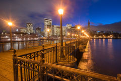 Άποψη του Σαν Φρανσίσκο από την αποβάθρα 7, Καλιφόρνια Στοκ Φωτογραφία
