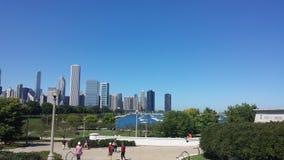 Άποψη του Σικάγου Στοκ Εικόνες