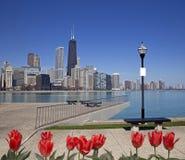 Άποψη του Σικάγου Στοκ Φωτογραφία