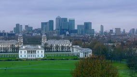 Άποψη του στο κέντρο της πόλης Λονδίνου απόθεμα βίντεο