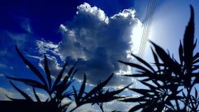 Άποψη του σύννεφου στοκ εικόνες με δικαίωμα ελεύθερης χρήσης