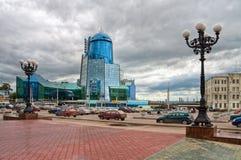 Άποψη του τερματικού ραγών της Samara Στοκ φωτογραφία με δικαίωμα ελεύθερης χρήσης