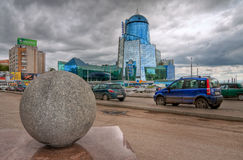 Άποψη του τερματικού ραγών της Samara Στοκ Εικόνες