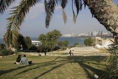 Άποψη του Τελ Αβίβ Στοκ Εικόνες