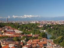 Άποψη του Τορίνου Στοκ φωτογραφία με δικαίωμα ελεύθερης χρήσης