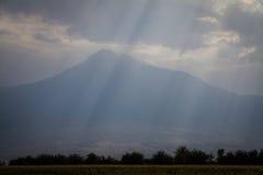 Άποψη του υποστηρίγματος Ararat Στοκ φωτογραφία με δικαίωμα ελεύθερης χρήσης