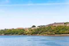 Άποψη του φρουρίου, Αβάνα, Κούβα Διάστημα αντιγράφων για το κείμενο Στοκ Φωτογραφία