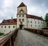 Άποψη του φρουρίου VESTE OBERHAUS στο Πάσσαου, Βαυαρία, Γερμανία στοκ φωτογραφία με δικαίωμα ελεύθερης χρήσης