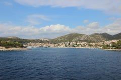 069 Άποψη του χωριού Δαλματία Στοκ φωτογραφία με δικαίωμα ελεύθερης χρήσης