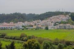 Άποψη του χωριού Odeceixe σε Aljezur, Πορτογαλία Στοκ φωτογραφία με δικαίωμα ελεύθερης χρήσης