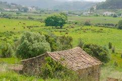 Άποψη του χωριού Odeceixe σε Aljezur, Πορτογαλία Στοκ φωτογραφίες με δικαίωμα ελεύθερης χρήσης