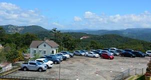 Άποψη του χώρου στάθμευσης στο λόφο σε Dalat, Βιετνάμ Στοκ φωτογραφίες με δικαίωμα ελεύθερης χρήσης