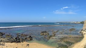 Άποψη του ωκεανού από το οχυρό halle φιλμ μικρού μήκους