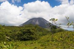 Άποψη του Arenal ηφαιστείου στη Κόστα Ρίκα Στοκ Φωτογραφίες