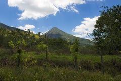 Άποψη του Arenal ηφαιστείου στη Κόστα Ρίκα Στοκ εικόνα με δικαίωμα ελεύθερης χρήσης