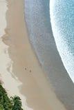 Άποψη του Ariel σχετικά με την παραλία Στοκ Φωτογραφίες
