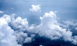 Άποψη του Ariel των σύννεφων και του ουρανού Στοκ Φωτογραφία