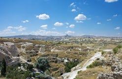 Άποψη του cappadocia Στοκ φωτογραφία με δικαίωμα ελεύθερης χρήσης