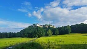 Άποψη του Castle Στοκ Φωτογραφία
