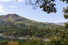Άποψη του Castle Dolbadarn στοκ εικόνα με δικαίωμα ελεύθερης χρήσης