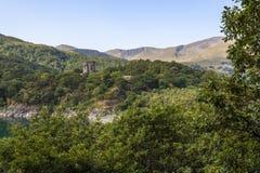 Άποψη του Castle Dolbadarn στοκ εικόνες