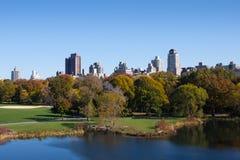 Άποψη του Central Park, Νέα Υόρκη Στοκ εικόνα με δικαίωμα ελεύθερης χρήσης