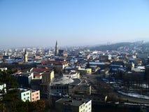 Άποψη του Cluj Napoca Στοκ Εικόνα