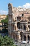 Άποψη του Colosseum, Ρώμη, Ιταλία, Ευρώπη στοκ φωτογραφία με δικαίωμα ελεύθερης χρήσης