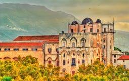 Άποψη του dei Normanni Palazzo στο Παλέρμο - τη Σικελία, Ιταλία στοκ φωτογραφίες με δικαίωμα ελεύθερης χρήσης