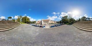 άποψη 360 του della Arte Moderna Galeria Nazionale στοκ φωτογραφία με δικαίωμα ελεύθερης χρήσης