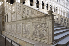 Άποψη του Doge παλατιού. Βενετία Στοκ Φωτογραφία