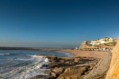Άποψη του DOS Pescadores Ericeira Praia Στοκ φωτογραφία με δικαίωμα ελεύθερης χρήσης