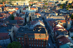 Άποψη του Gliwice στην Πολωνία Στοκ Φωτογραφία
