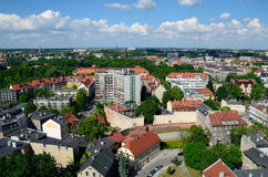 Άποψη του Gliwice στην Πολωνία στοκ εικόνες με δικαίωμα ελεύθερης χρήσης