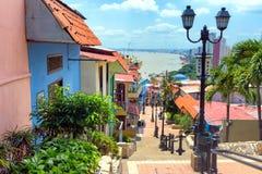 Άποψη του Guayaquil, Ισημερινός Στοκ Εικόνες