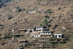 Άποψη του Hill του Νεπάλ Poon Στοκ Εικόνες