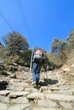 Άποψη του Hill του Νεπάλ Poon Στοκ φωτογραφία με δικαίωμα ελεύθερης χρήσης