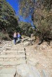 Άποψη του Hill του Νεπάλ Poon Στοκ εικόνα με δικαίωμα ελεύθερης χρήσης