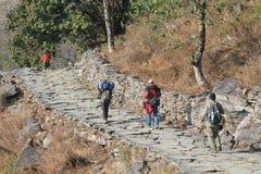 Άποψη του Hill Poon στο Νεπάλ Στοκ εικόνες με δικαίωμα ελεύθερης χρήσης