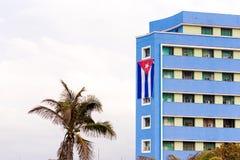 Άποψη του multi-storey κτηρίου, Αβάνα, Κούβα Διάστημα αντιγράφων για το κείμενο Στοκ εικόνες με δικαίωμα ελεύθερης χρήσης