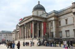Το National Gallery, Λονδίνο, Αγγλία Στοκ Φωτογραφίες