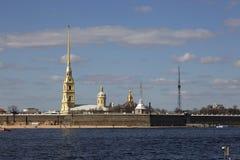 Άποψη του Peter και του φρουρίου του Paul Στοκ φωτογραφία με δικαίωμα ελεύθερης χρήσης