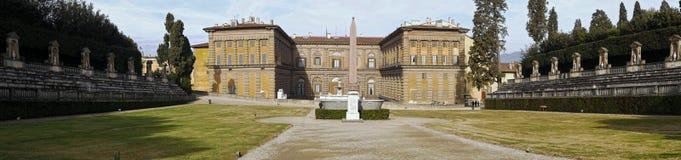 άποψη του pitti palazzo Στοκ εικόνα με δικαίωμα ελεύθερης χρήσης