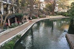 Άποψη του San Antonio Riverwalk Στοκ φωτογραφίες με δικαίωμα ελεύθερης χρήσης