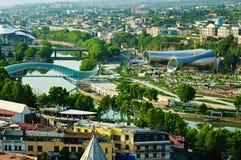 Άποψη του Tbilisi Στοκ Εικόνα
