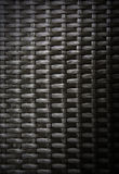 Άποψη του wovenwork από τις τεχνητές λουρίδες ινδικού καλάμου Στοκ φωτογραφία με δικαίωμα ελεύθερης χρήσης