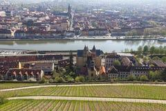 Άποψη του Wurzburg, Γερμανία. Στοκ Εικόνες