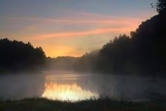 Άποψη το πρωί στην πόνο Ung Στοκ φωτογραφία με δικαίωμα ελεύθερης χρήσης
