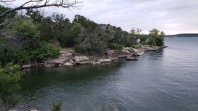 Άποψη τρεις του όρμου λιμνών στο κρατικό πάρκο βασίλειων Possum Στοκ φωτογραφία με δικαίωμα ελεύθερης χρήσης