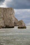 Άποψη των απότομων βράχων στο κεφάλι Seaford Στοκ φωτογραφίες με δικαίωμα ελεύθερης χρήσης
